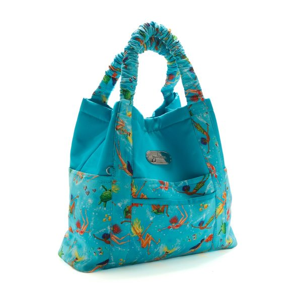 Beach Bag Set Summertime Blue Closed Option 1