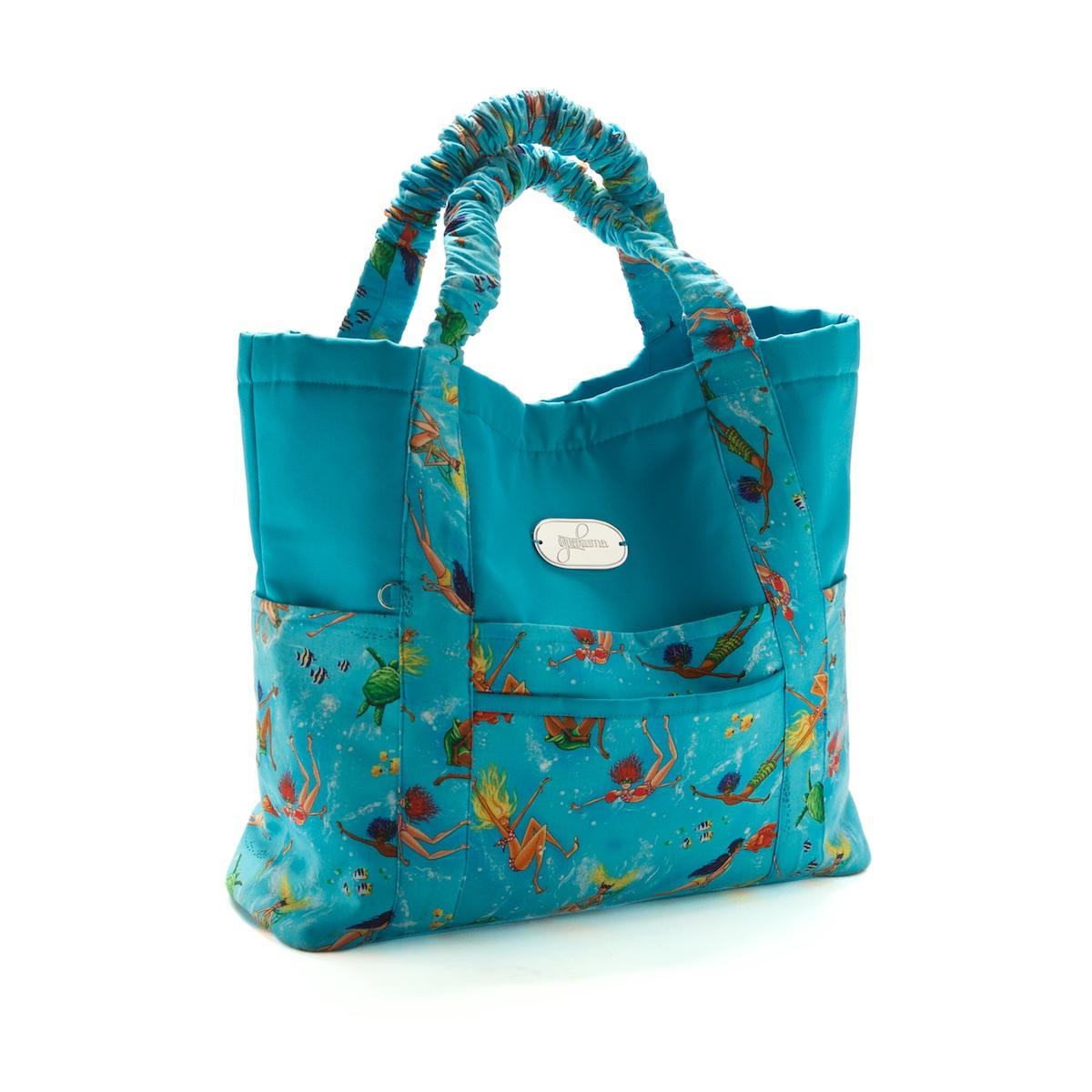 Beach Bag Set Summertime Blue Open Option 1