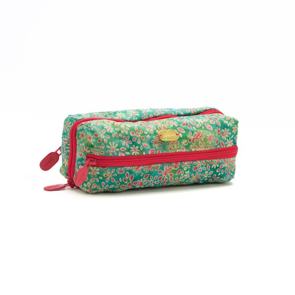 Double Glasses Case Sweet Pea Closed