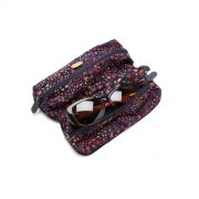 Double Glasses Case Moonstruck Open Outside with Glasses