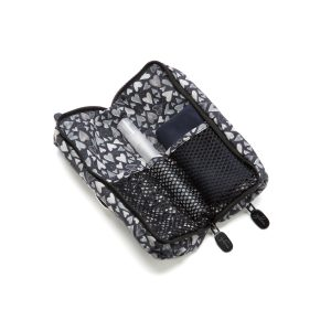 Double Glasses Case Hearts 2 You Open Inside with cleaner