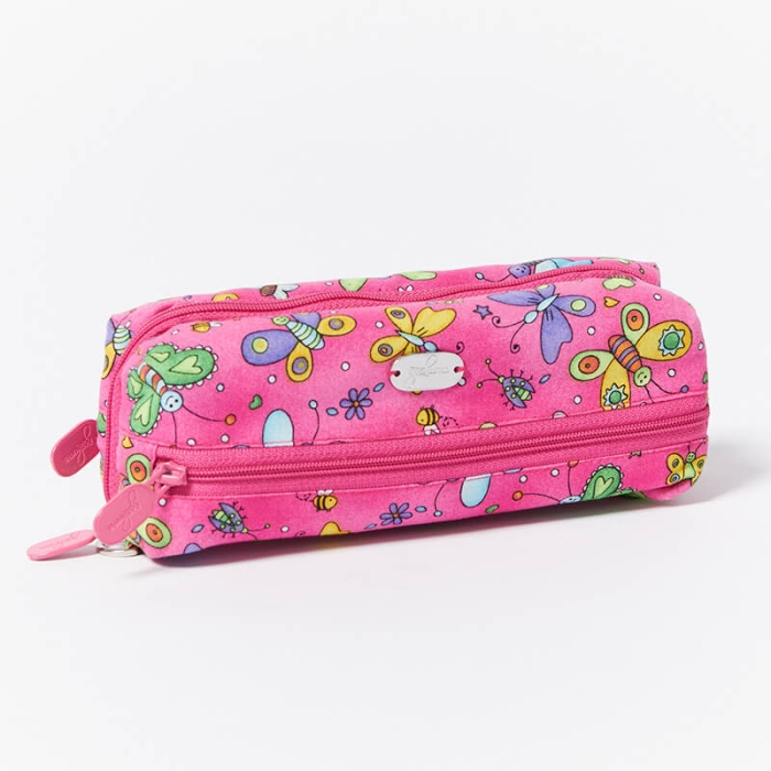 Multi-Purpose-Pouch-Butterflies-Pink-Closed