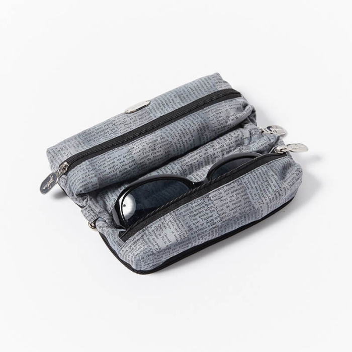 Multi-Purpose-Pouch-Newsprint-Grey-With=Glasses