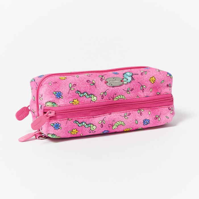 Multi-Purpose-Pouch-Pink-Bugs-Closed