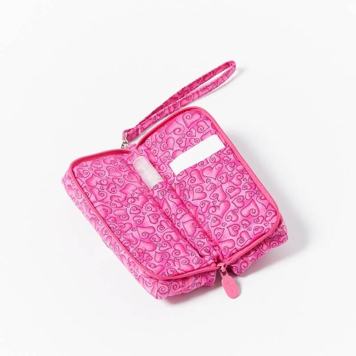 Multi-Purpose-Pouch-Pink-Hearts-Open