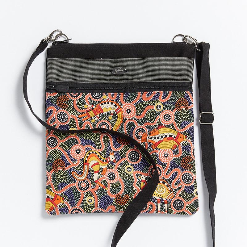 Crossbody-Bag-Dot-Painting